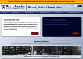 archives.upenn.edu