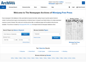 archives.winnipegfreepress.com