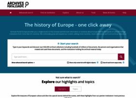 archivesportaleurope.net