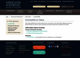 archiveswiki.historians.org