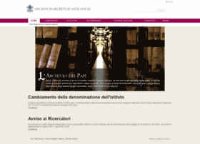 archiviosegretovaticano.va