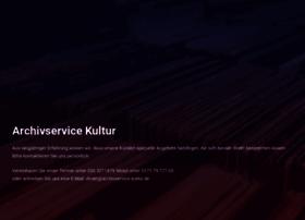 archivservice-kultur.de