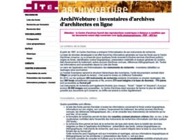 archiwebture.citechaillot.fr