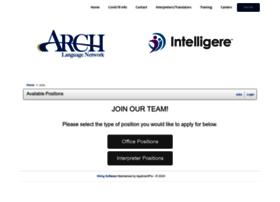 archlanguage.iapplicants.com