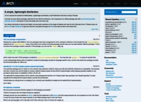 archlinux.org