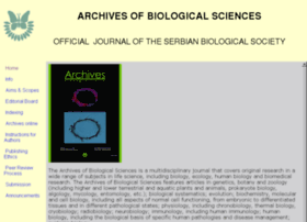 archonline.bio.bg.ac.rs