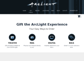 arclightgiftcards.com