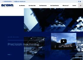 arcom-industrie.com