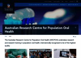 arcpoh.adelaide.edu.au