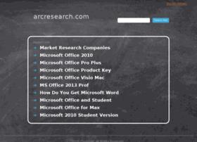 arcresearch.com