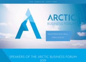 arcticbusinessforum.com