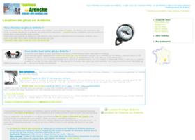ardeche-gite-location.com