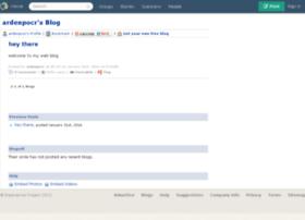 ardenpocr.blogs.experienceproject.com