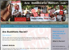 arebuddhistsracist.com