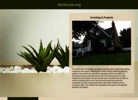 areforum.org