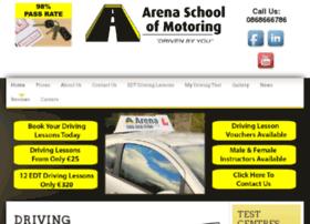 arenaschoolofmotoring.com