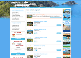 argentariocamping.com