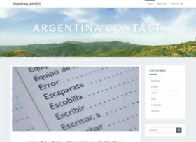 argentinacontact.com