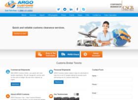 argocustoms.com