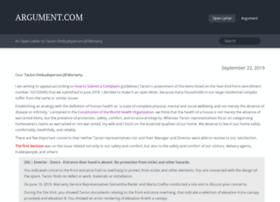 argument.com