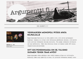 argumentti.fi
