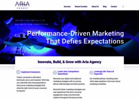ariaagency.com