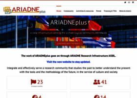 ariadne-infrastructure.eu