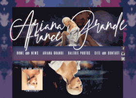 arianagrandefrance.com