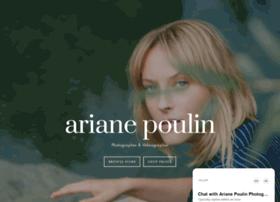 arianepoulin.com