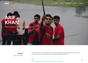 arif-khan.net