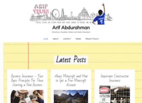 arifabdurahman.com