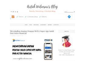 arifahwulansari.com