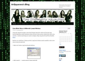 arifjayarana.wordpress.com