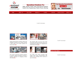 arihantelectrovision.com
