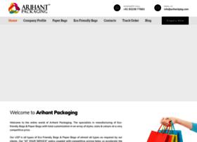 arihantpkg.com