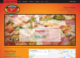arionpizza.com