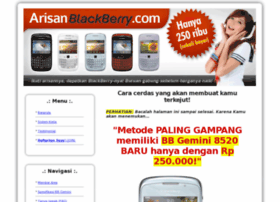 arisanblackberry.com