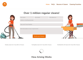 arisingcleaningservices.co.uk