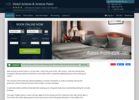 ariston-prague.hotel-rez.com