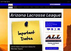 arizonalacrosseleague.com