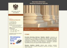 arkadiuszszkurlat.notariusz.pl