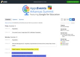 arkansas2014.sched.org