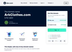 arkclothes.com