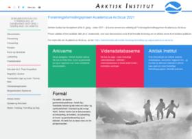 arktiskinstitut.dk