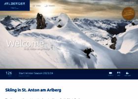 arlbergerbergbahnen.com