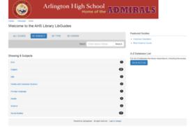 arlingtonschools.libguides.com