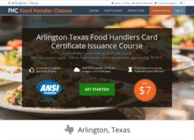 arlingtontx.foodhandlerclasses.com