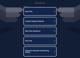arm-fonts.com