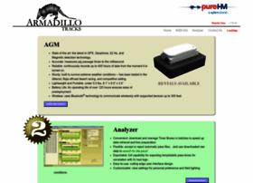 armadillotracks.com