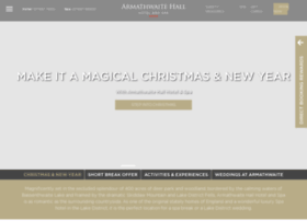 armathwaite-hall.com